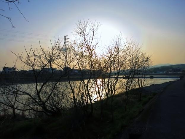 立春の黄昏