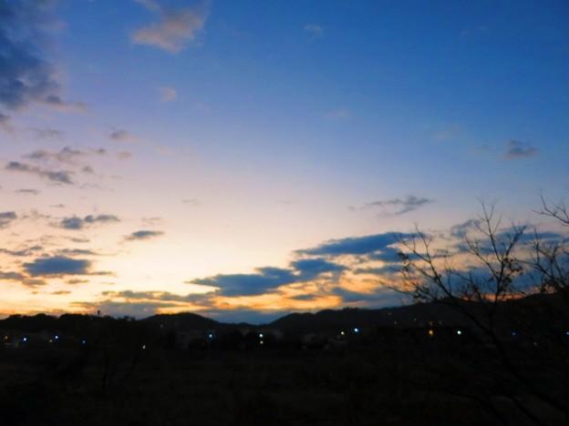 鏡川の夜明け・4