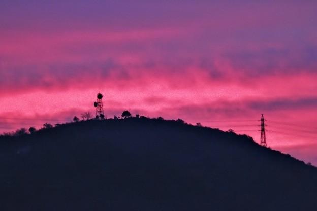 鏡川の夜明け・3