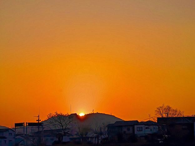 鷲尾の太陽