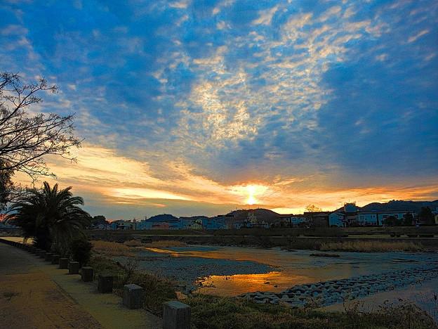 鏡川の朝.18