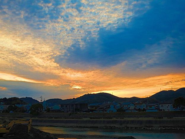 鏡川の朝.17
