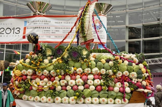 「野菜の宝船」(2)