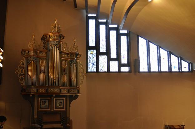 聖グレゴリオの家聖堂のパイプオルガン