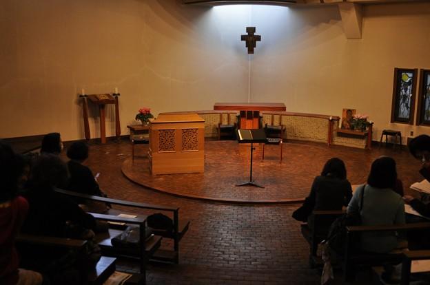 聖グレゴリオの家聖堂のステージ?
