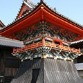 写真: 酒見寺の鐘楼