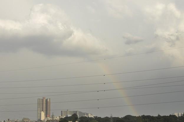 7月7日、雲に架かる虹の橋