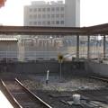写真: 宇和島駅の車止め