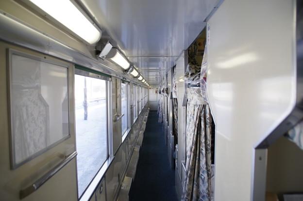 寝台特急日本海 B寝台車内