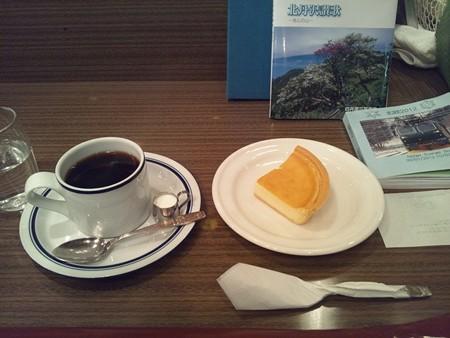 チーズケーキとブラジルカフェ