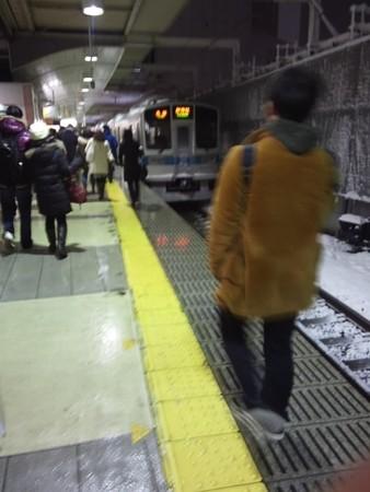 寒いぞ町田駅