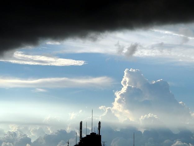 一点にわかに曇り