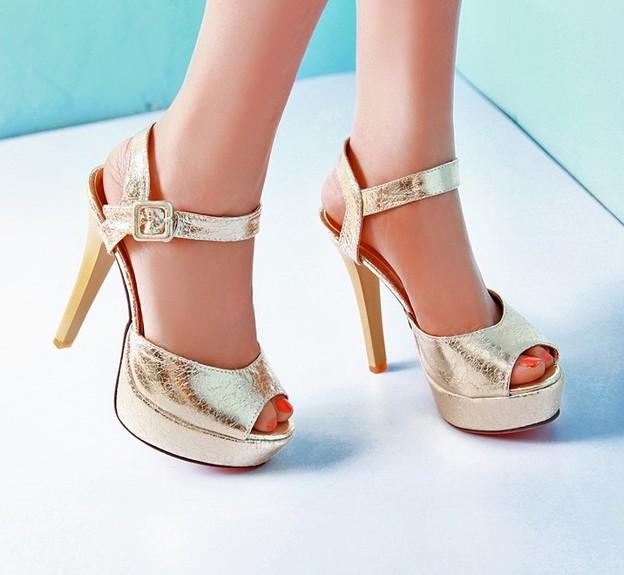summer sequin sandals