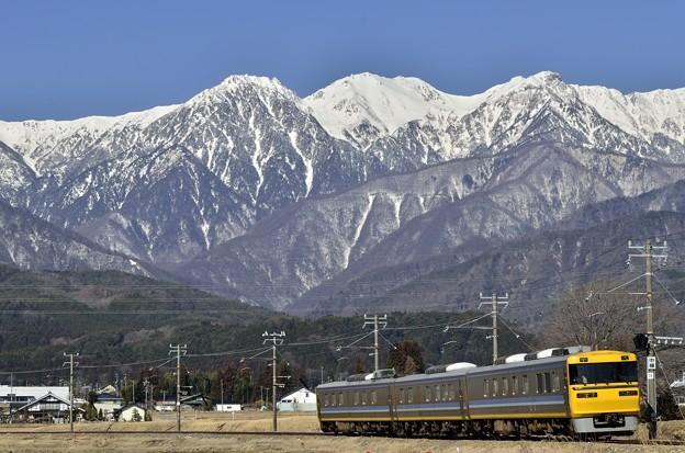 Photos: キヤは快調、お山は晴天。
