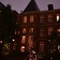 Photos: DSC_8498 中庭で一人で過ごす人もいる