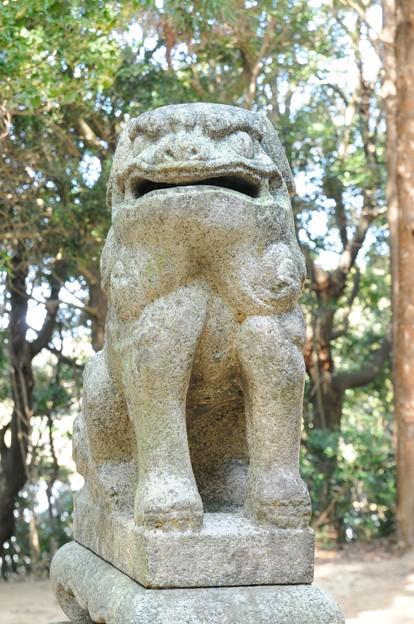 有毛 戸明神社