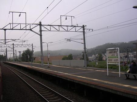 上野幌駅7