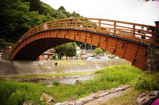 2012-08奈良井宿の木曽の大橋 (5)