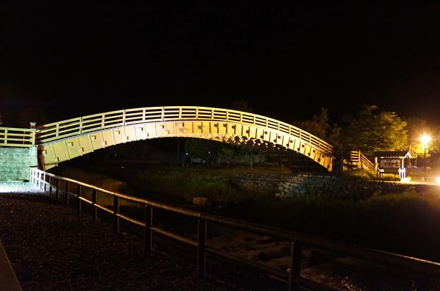 2012-08奈良井宿の木曽の大橋 (1)