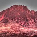 Photos: 利尻の赤富士