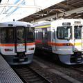Photos: 373系  F3と 313系  W1