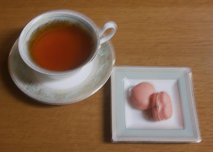 ルピシアの紅茶とブールミッシュのマカロン