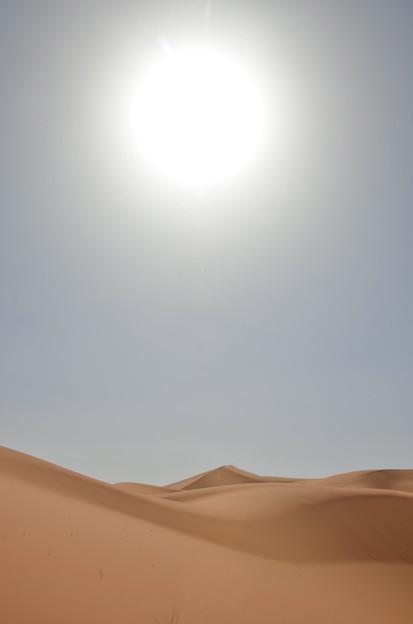 サハラ砂漠の砂丘3