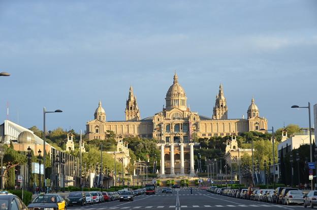 カタルーニャ美術館、美しい...