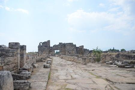 ヒエラポリス、遺跡がゴロゴロ