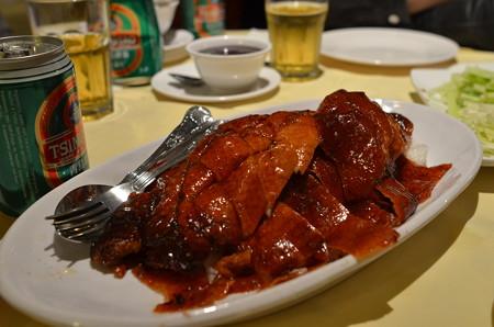 渡辺さんが世界で一番美味しいと太鼓判を押す北京ダック