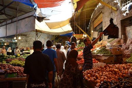 アンマンのマーケット