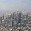 Photos: バージュ・ハリファから。砂漠の中にいきなり都市がある