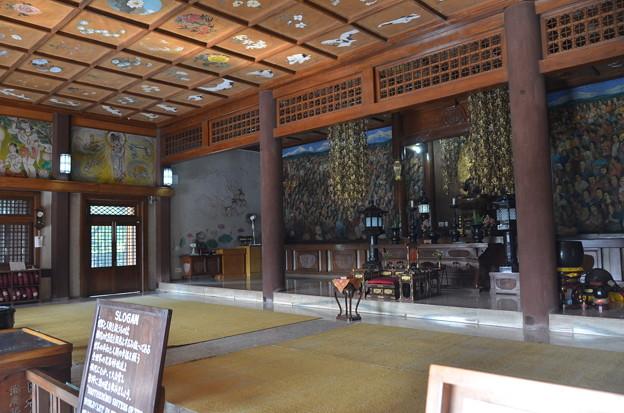 日本寺。さすがに畳ではない