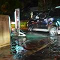 Photos: 雨が降ると道路が冠水して大変なことに