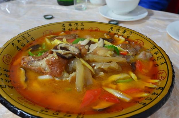 チベットの魚料理