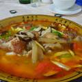 写真: チベットの魚料理