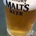 写真: 成田で昼ビール