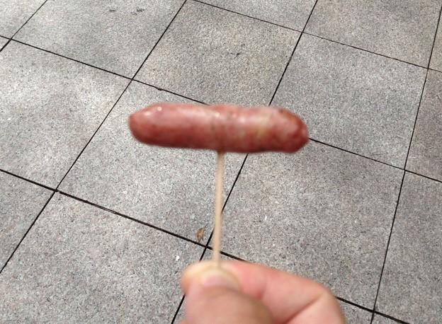 ふるさと全国県人会まつり_47:イノシシ肉のソーセージ(愛知県)