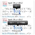 写真: iOS 6テキスト選択時:顔文字(記号?)だけでは『ユーザー辞書…