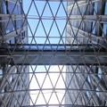 写真: 愛知大学 新名古屋キャンパス:校舎間にあるガラス屋根 - 08
