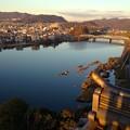 写真: 犬山城:天守閣最上階からの眺め - 09