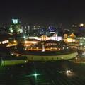 写真: 名古屋港シートレインランド:大観覧車から見た夜景 - 06(アルカンシエル名古屋)