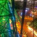 写真: 名古屋港シートレインランド:大観覧車から見た夜景 - 11