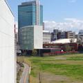 写真: ささしまライブ駅から見たJICA中部