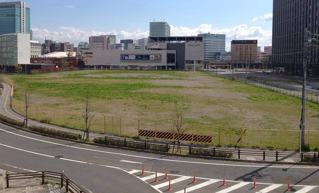 写真: ささしまライブ24にある大きな空き地