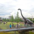 写真: ノリタケの森:巨大恐竜がやってきた! - 08