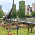写真: ノリタケの森:巨大恐竜がやってきた! - 10