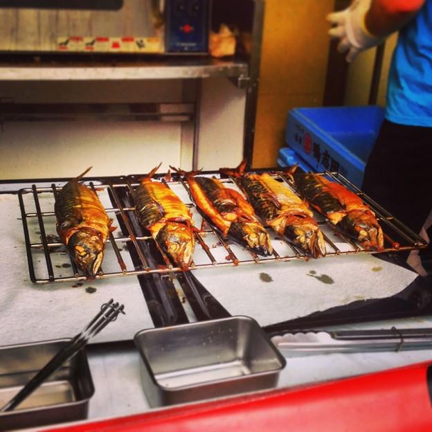 ナゴヤ・オクトーバフェスト 2013:鯖の丸焼き - 3