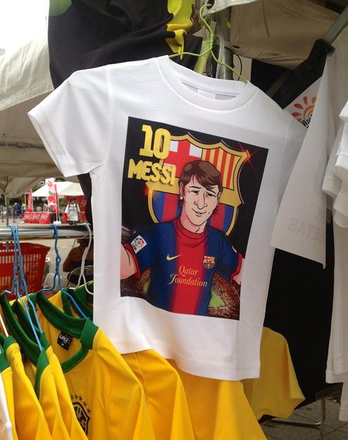 ブラジルDay 名古屋 2013 - 20:メッシのTシャツ