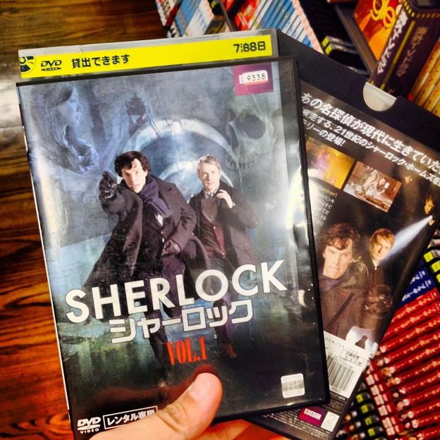 写真: BBC制作ドラマ「シャーロック」DVD(レンタル) - 2